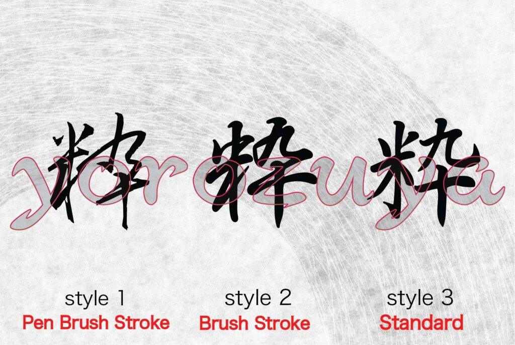 Cool Kanji tattoo ideas for guys