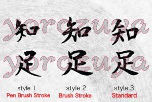 Japanese Kanji Symbols for Tattoo, Simple word tattoo ideas for minimalist