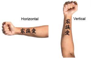 Family Love Tattoo Example