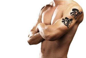 Japanese Kanji Tattoo Symbol for Fighting Spirit
