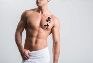 Willpower kanji tattoo