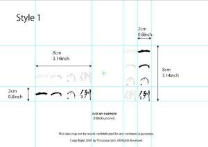 4 letter word for finger tattoo sample