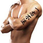 Japanese Kanji Symbols for Arm Tattoo For Guys
