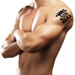 small shoulder tattoos for guys
