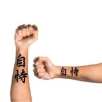 Believe in yourself in Japanese Kanji for Tattoo on arm