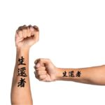 Kanji Tattoo Idea on forearm 'Survivor'