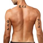 live laugh love in japanese kanji and hiragana for tattoo